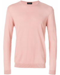 Pink Crew-neck Sweater