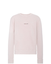 Saint Laurent Pink Sweatshirt