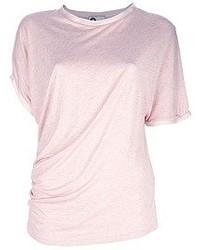 Lanvin Asymmetric Draped T Shirt