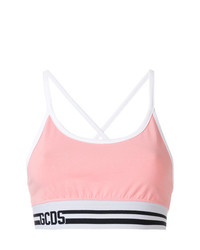Gcds Logo Waistband Cropped Top