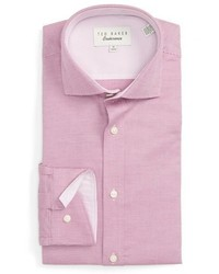 Ted Baker London Dequan Trim Fit Texture Dress Shirt
