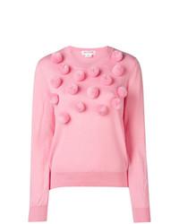 Pom pom knitted jumper medium 8605589