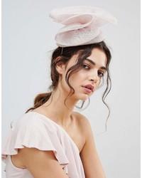 Vixen Blush Hat With Oversize Sinamay Bow