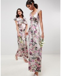 ASOS DESIGN Maxi Dress In Pretty Floral Print