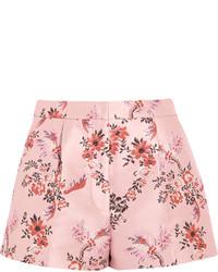 Stella McCartney Floral Jacquard Shorts Blush