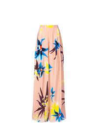 DELPOZO Floral Print Palazzo Trousers