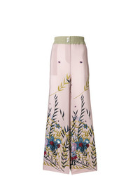 Erika Cavallini Floral Print Trousers