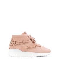 Tod's Flatform Hi Top Sneakers