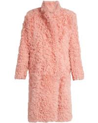 Preen by Thornton Bregazzi Candy Curly Shearling Coat