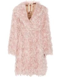 No.21 No 21 Casire Oversized Mohair Blend Faux Shearling Coat