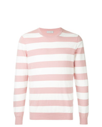 Gieves & Hawkes Striped Fitted Sweater