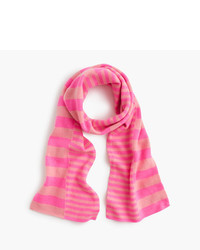 J.Crew Girls Cashmere Striped Scarf