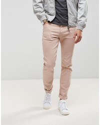 Ldn Dnm Dusty Pink Skinny Jeans