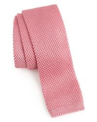 Pink Knit Tie