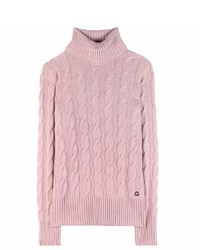 Pink Knit Turtleneck
