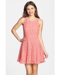 Renley lace fit flare dress medium 246237