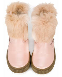 Missouri Kids Pearl Detail Ankle Boots