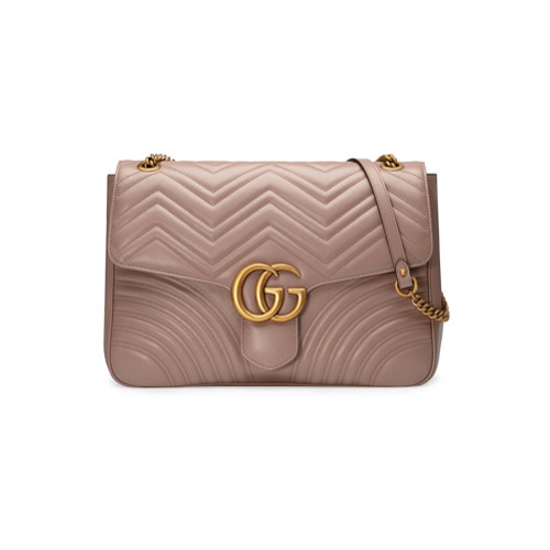 5d7913f88 ... Leather Crossbody Bags Gucci Gg Marmont Large Shoulder Bag ...