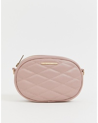 Lipsy Quilted Bumbagcross Body In Pink