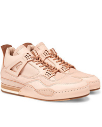 Hender Scheme Mip 10 Nubuck Trimmed Leather Sneakers