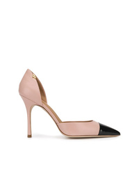Tory Burch Contrast Pointed Pumps