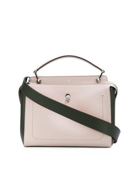 Fendi Color Block Dotcom Tote