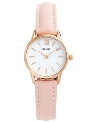 Cluse La Vedette Leather Strap Watch 24mm