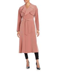 Pink Lightweight Trenchcoat