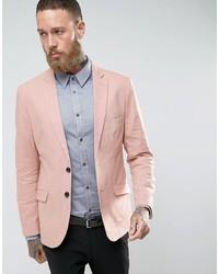 Slim fit linen blazer medium 3757421