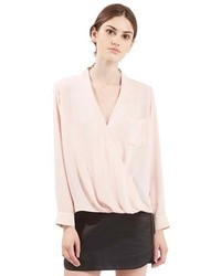 f552d07ceacab8 Women's Pink Long Sleeve Blouses by Topshop | Women's Fashion ...