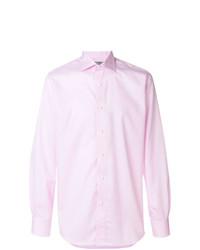 Canali Curved Hem Shirt