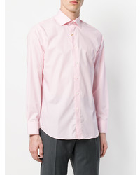 Canali Cutaway Collar Shirt