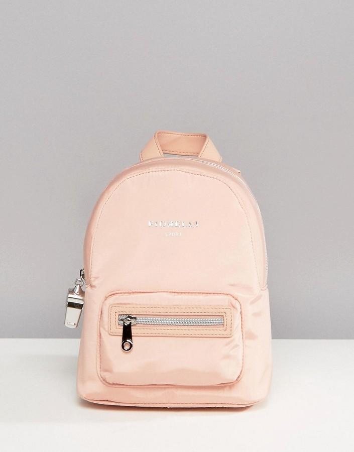 ... Pink Nylon Backpacks Fiorelli Sport Strike Mini Nylon Backpack In Blush  ...