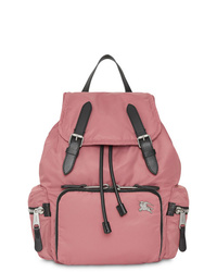 Burberry The Medium Rucksack In Puffer Nylon And Leather