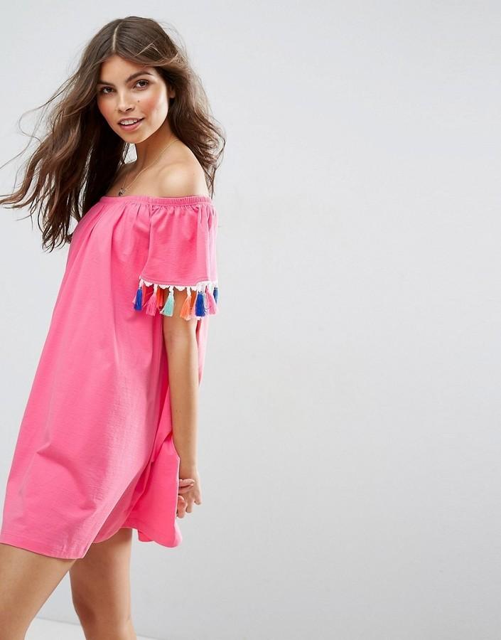 Off Shoulder Sun Dress