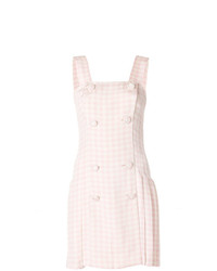 Versace Vintage Checked Dress