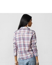 Denim & Supply Ralph Lauren Denim Supply Vanessa Plaid Cowgirl Shirt