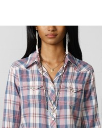 Denim & Supply Ralph Lauren Denim Supply Vanessa Plaid Cowgirl Shirt