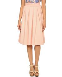 Pleated midi skirt medium 263301