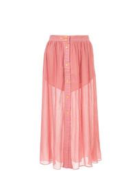 Lalo Sheer Midi Skirt
