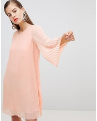 Y.a.s All Over Pleated Shift Dress
