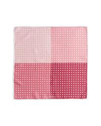 J.Z. Richards Polka Dot Pocket Square Pink One Size