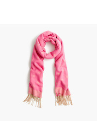 J.Crew Brushed Scarf With Polka Dots