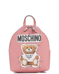 Moschino Medium Teddy Logo Backpack