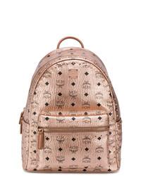 MCM Metallic Studded Backpack