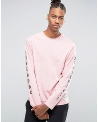 ... Hype Long Sleeve T Shirt With Arm Print 6f4ddae2067