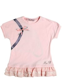 Pink Print T-shirt