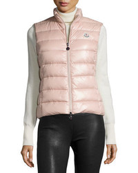 Pink Quilted Gilet
