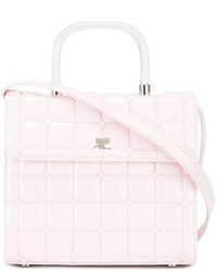 Courrges quilted cross body bag medium 842032