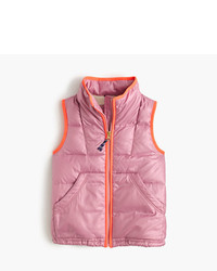 J.Crew Girls Quilted Puffer Vest